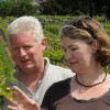 Welsh producer Ancre Hill Vineyard with Richard and Joy Morris